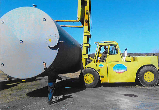 50 ton forklift