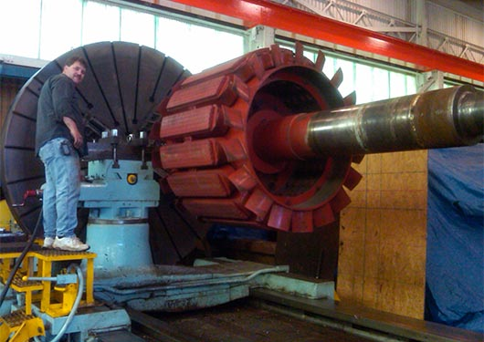 Large Capacity Machining