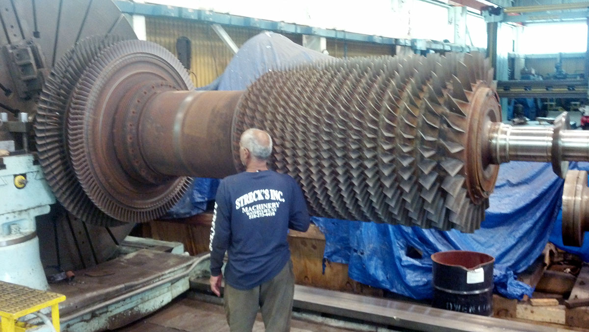 Large machining heavy lift
